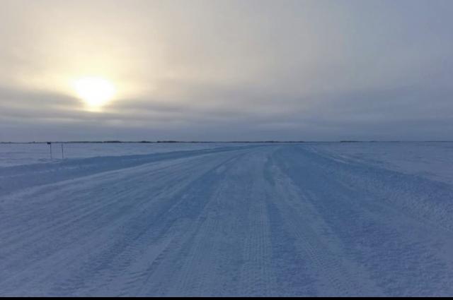 Непогода на Ямале внесла коррективы в работу зимников