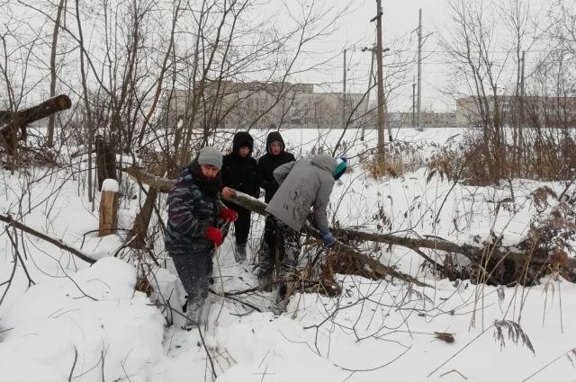 Волонтёры не дали замерзнуть 85-летней пенсионерке в Кимрах