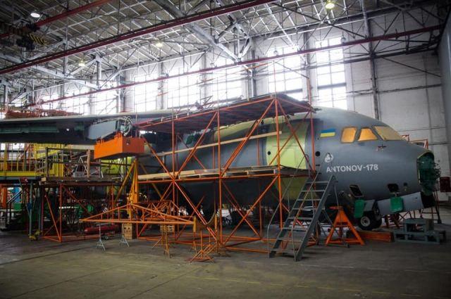 Началась сборка трех самолетов Ан-178 для ВСУ, - Укроборонпром