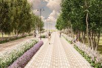 В Новосибирске продолжится благоустройство зеленых зон.