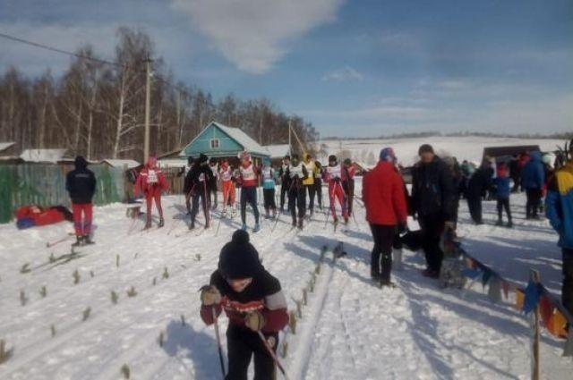 В Башкирии прошла лыжная гонка в честь Тагира Кусимова