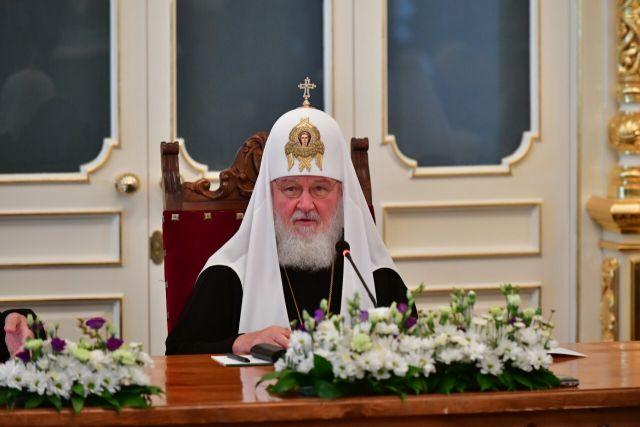 Президент Сербии наградил патриарха Кирилла орденом
