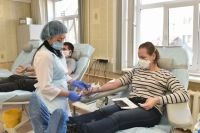 С 15 февраля отменили предварительную запись на сдачу крови.
