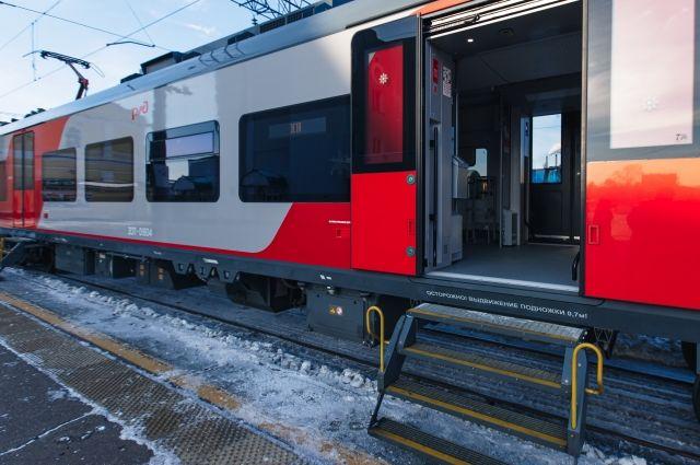 В Оренбуржье прошел тестовый запуск скоростного поезда «Ласточка»
