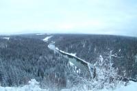 Усьвинские столбы - визитная карточка реки Усьва.