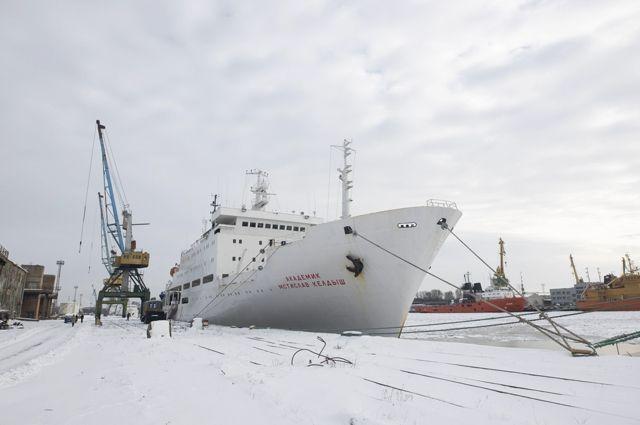 В мае научное судно «Келдыш» отправится в экспедицию в Арктику