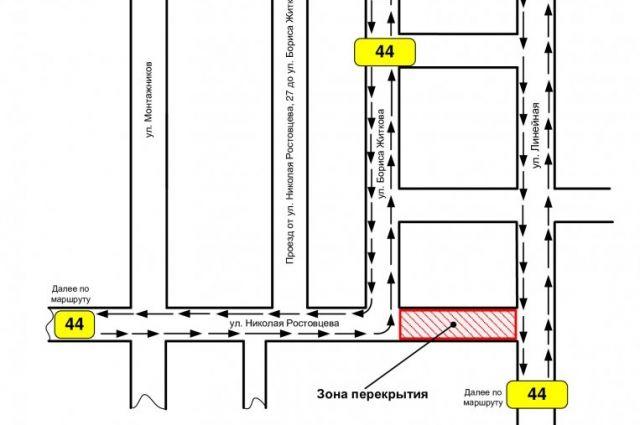 В Тюмени участок улицы Николая Ростовцева перекроют на три недели