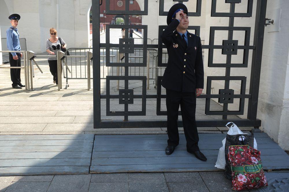 Уволенный в запас после службы в Президентском полку, 2013 г.