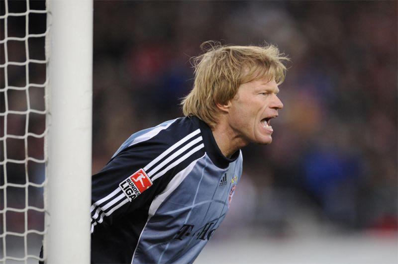 9. Оливер Кан (экс-«Бавария», Германия) — 99. Немецкая легенда Оливер Канн выступал за «Баварию» с 1994 по 2008 годы, проведя за клуб более 600 матчей. За это время выиграл 22 трофея.
