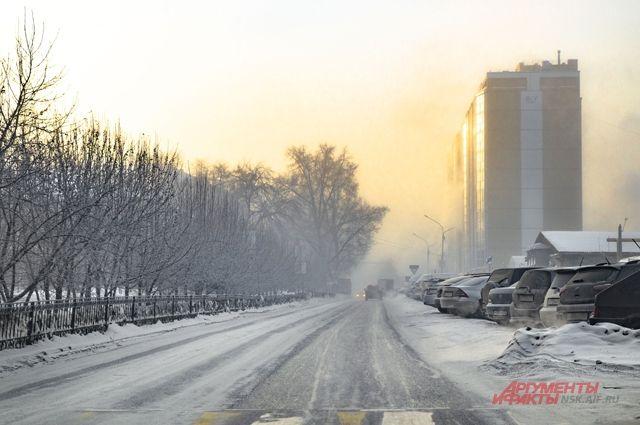 Тридцатиградусные морозы возвращаются в Новосибирск.