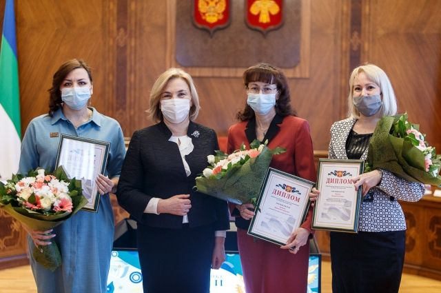В Администрации Главы Республики Коми состоялась церемония награждения победителей республиканского конкурса Наставник года.