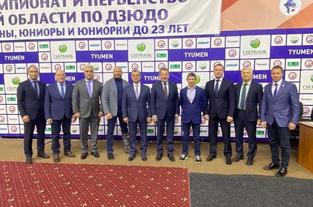 Николай Руссу стал президентом Тюменской областной федерации дзюдо и самбо