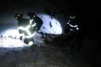 Под Днепром двое человек провалились под лед и утонули