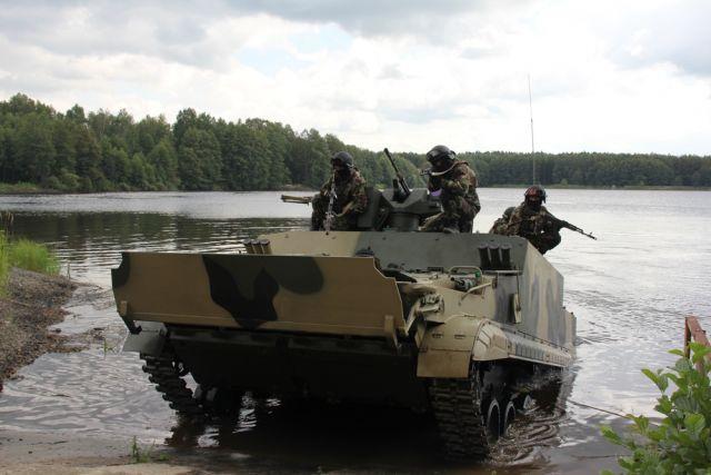 Бронетранспортёр для морской пехоты БТ-3Ф.