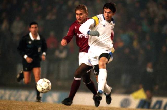 1991 год: как «Динамо» в первой Лиге чемпионов сыграло за две страны