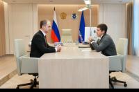 Губернатор ЯНАО  обсудил с главой Салехарда приоритеты строительства жилья