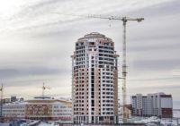 В прошлом году в окружном центре введено 133 тыс кв м жилья