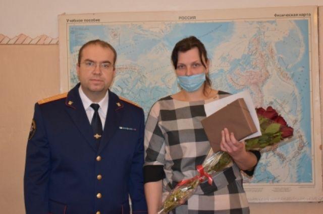 Вручение медали состоялось в родной школе Даниила Долгаева.