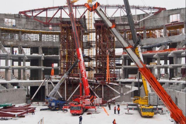 Игры чемпионата пройдут в новом ледовом дворце, который сейчас строится.