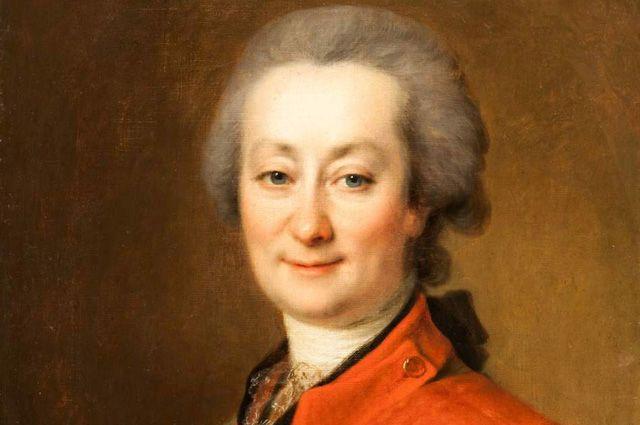 Фёдор Орлов. Портрет работы Д.Г. Левицкого, 1785.