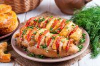 Запеченные куриные грудки с помидорами и сыром: рецепт вкусного блюда