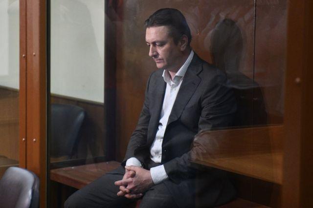 Андрей Кулаков во время избрания меры пресечения в Бабушкинском суде.