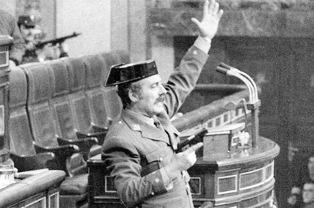 Антонио Тейеро Молина. 23 февраля 1981 года.