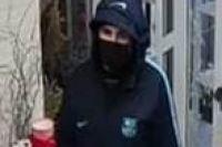 Полиция разыскивает мужчину, ограбившего цветочный магазин