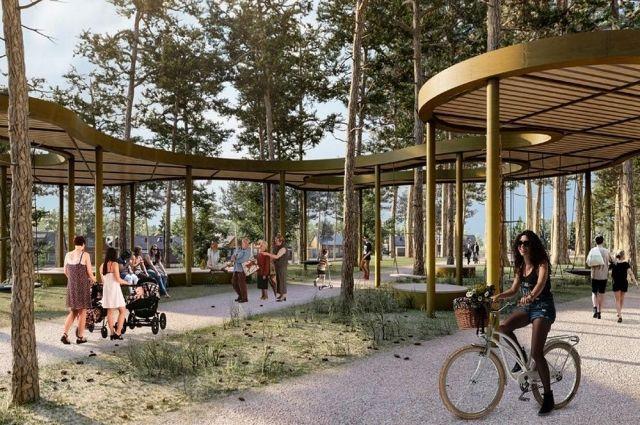 Тюменцы проголосуют за дизайн объектов благоустройства в 2022 году