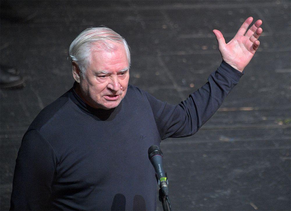 Актёр Владимир Краснов.