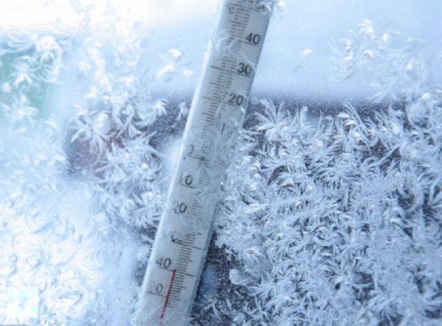 Температура воздуха в некоторых районах опуститься до -44 ºС