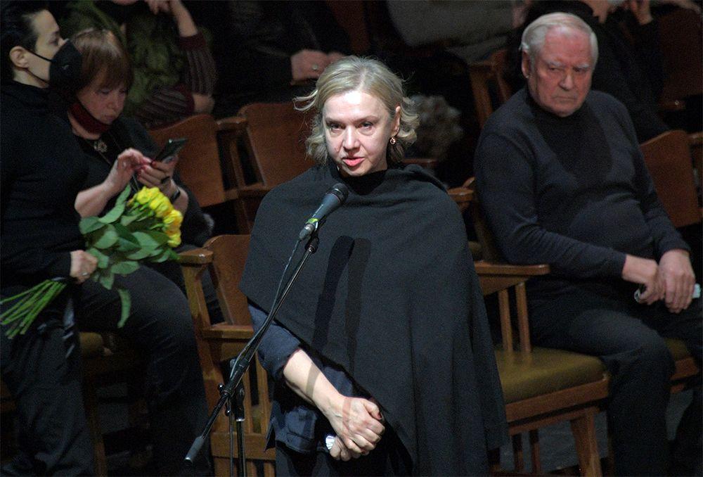 Художественный руководитель театра «Практика», заслуженная артистка России Марина Брусникина.