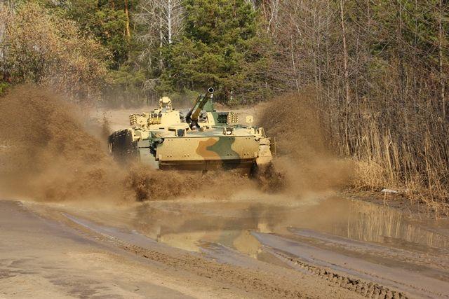 Модернизированный вариант БМП-3.