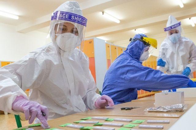За сутки в Калининградской области 129 новых случаев коронавируса