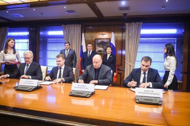 Подписанные документы предполагают совместную работу федерального центра, региона, города и никелевой компании.
