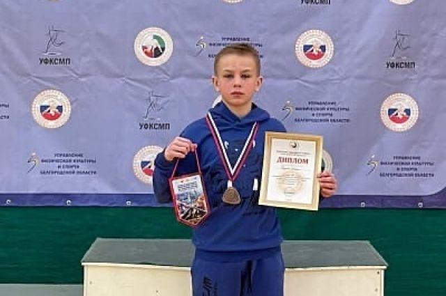 Ученик тульской школы вошел в тройку лучших спортсменов