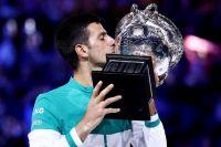 Теннис: Новак Джокович в девятый раз победил на Australian Open