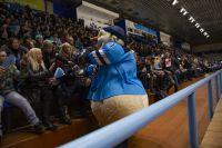 Жюри конкурса оценило мастерство новосибирского хоккейного талисмана.