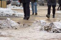 Очистить улицы от снега смогут не раньше середины марта.
