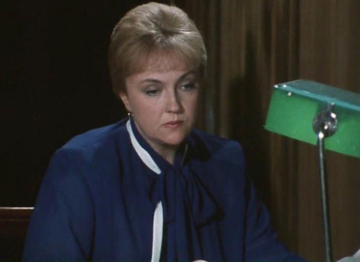 Екатерина Градова в фильме «Гнездо глухаря», 1987 г.