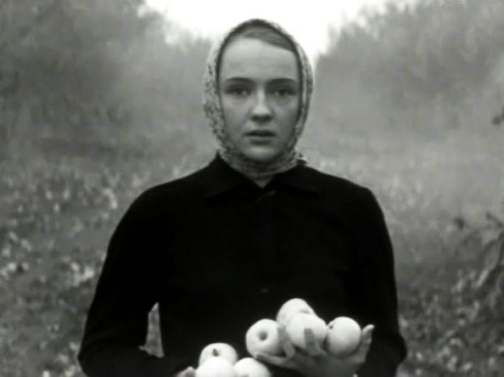 Екатерина Градова в фильме «Осенние свадьбы», 1967 г.