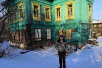 В Тюмени не будут сносить бирюзовый дом по улице Береговой