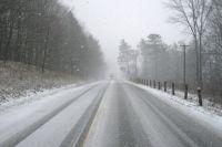 В некоторых районах региона сильный мороз, ветер и метель.