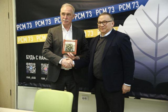 Игорь Угольников привёз в Ульяновск «Подольских курсантов»