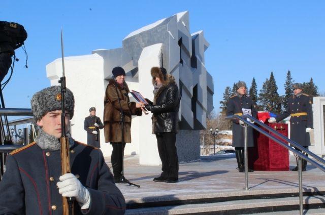 Память красноармейца Михаила Балина почтили в Тобольске