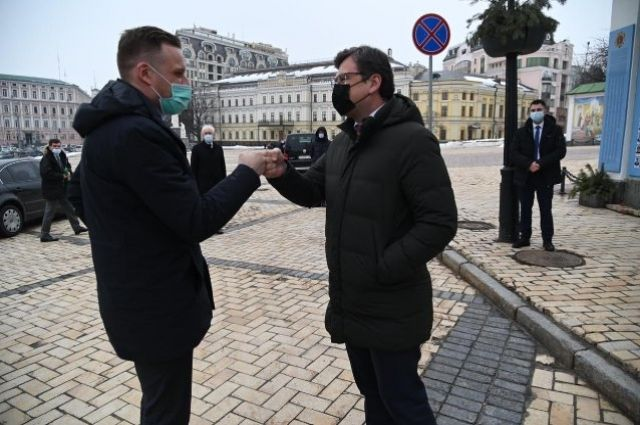 В Украину с рабочим визитом прибыл глава МИД Литвы.