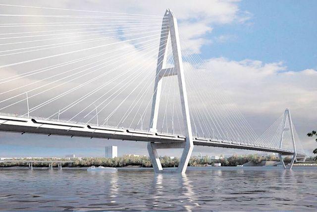 Новый вантовый мост хотят строить недалеко от старого Коммунального.