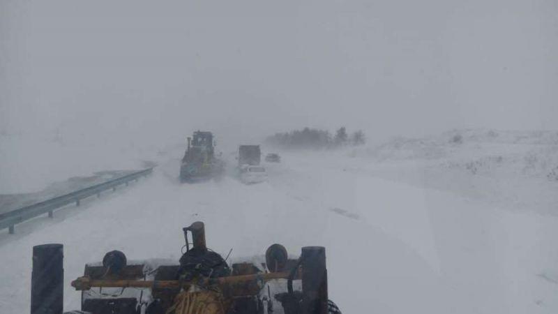 Автодорога Южноуральск - Магнитогорск в 11 часов 24 февраля.