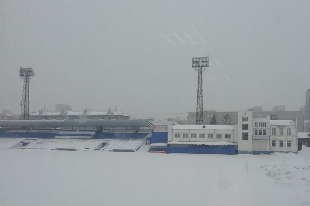 Метель начинается в Барнауле