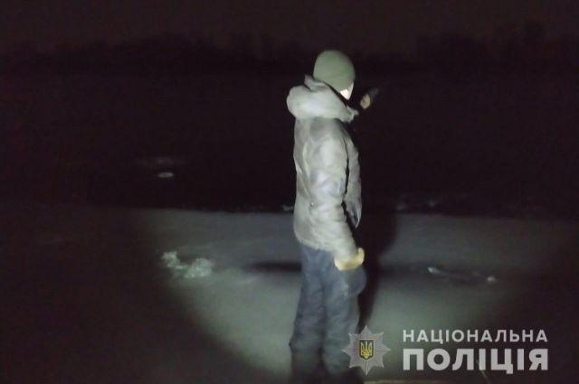 В Харьковской области двое человек провалились под лед и утонули